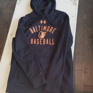 Under Armour Shirts - Medium TALL UnderArmour Baltimore Baseball Hoodie